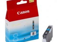 1 x Canon CLI-8C Cyan Ink Cartridge